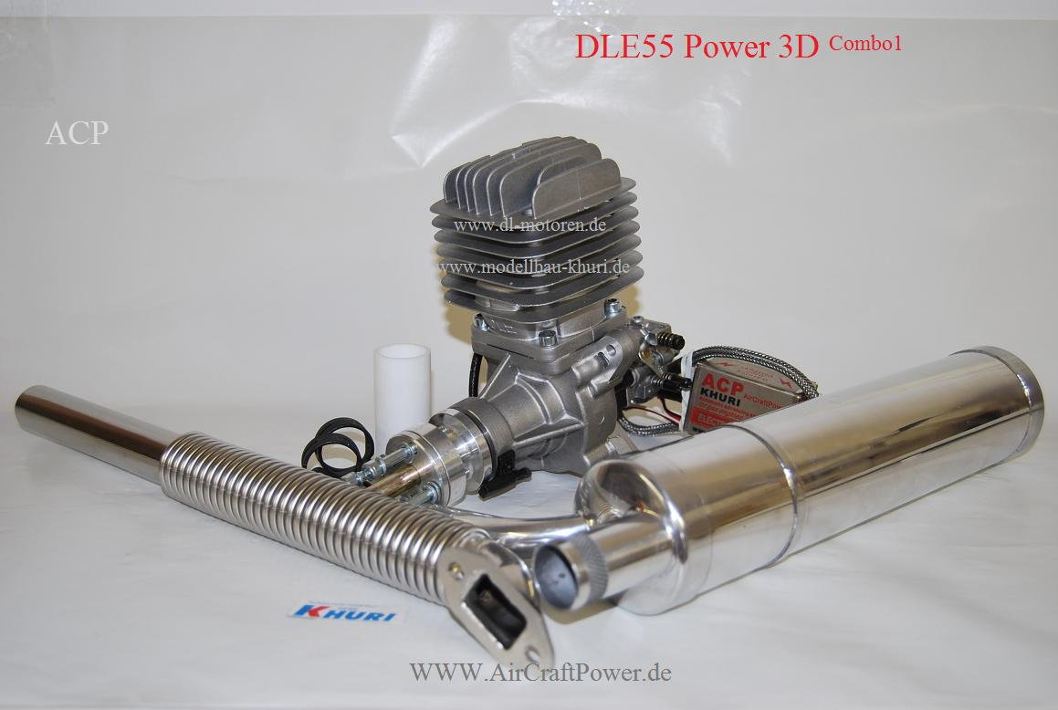 DLE55 Power 3D Combo 1